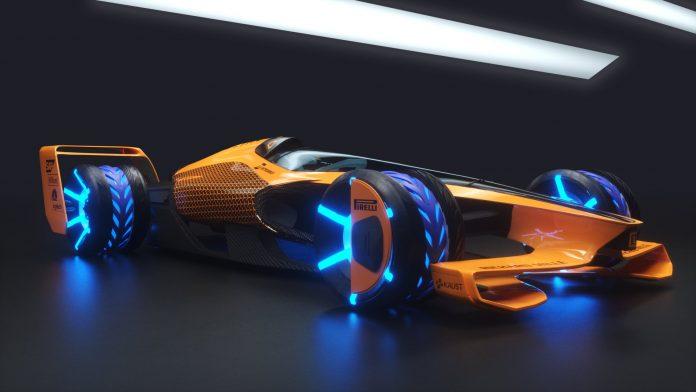 McLaren's 2050 Racing Concept