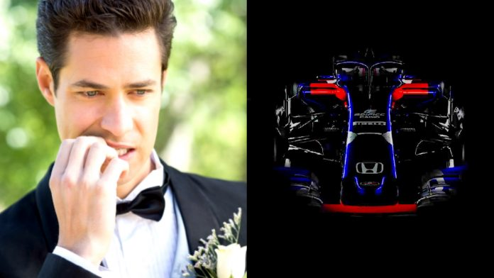 F1 Wedding Toro Rosso Launch