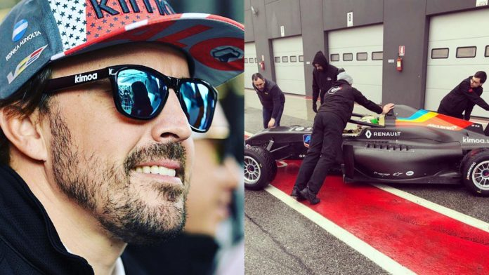 F1 Alonso Formula Renault
