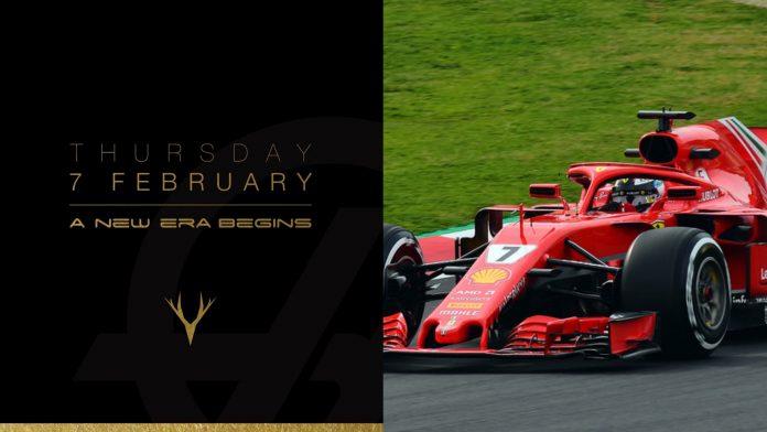 F1 Haas Ferrari