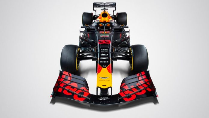Red Bull F1 2019 Livery