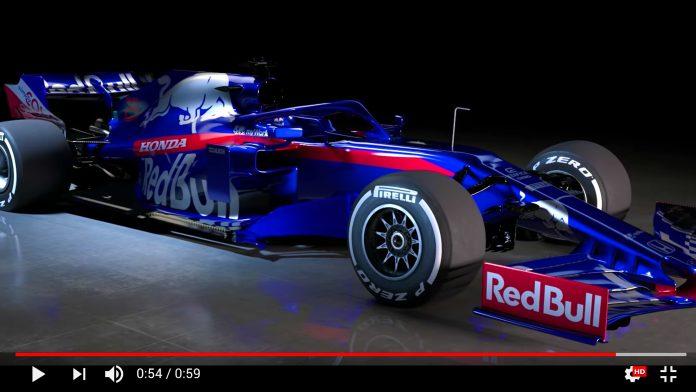 F1 Toro Rosso Launch