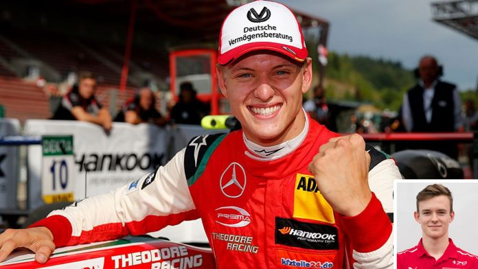 Mick Schumacher Testing F1