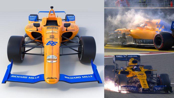 Fernando Alonso McLaren Indy