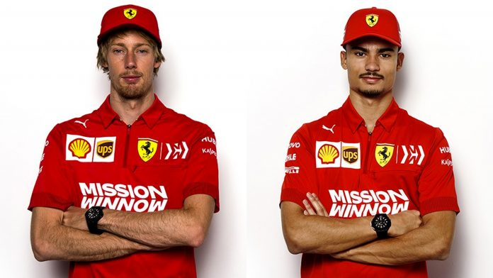 Scuderia Ferrari F1 Brendon Hartley Pascal Wehrlein