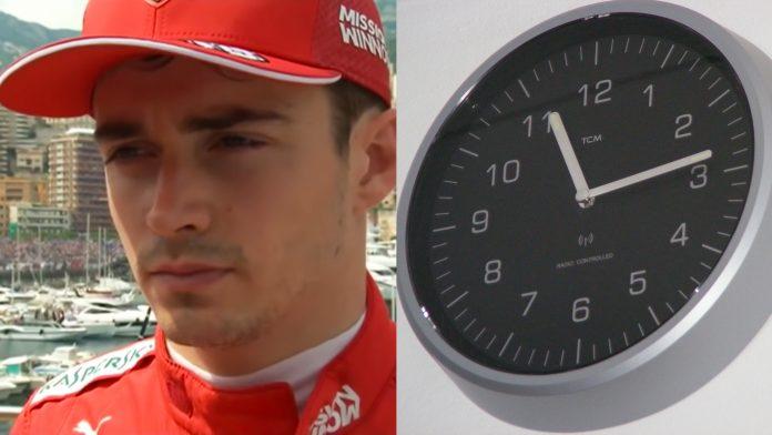 F1 Ferrari Charles Leclerc Qualifying