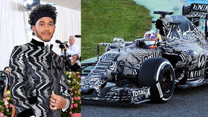 Lewis Hamilton Met Gala