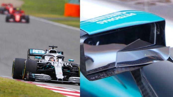 Mercedes F1 Mirrors