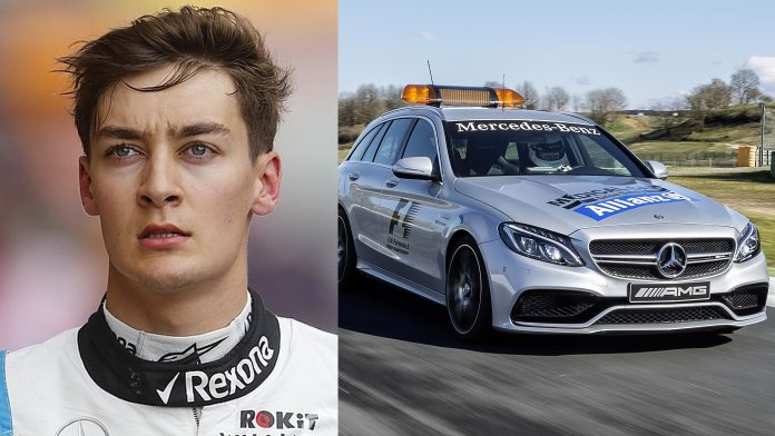 George Russell F1 Grid Penalty