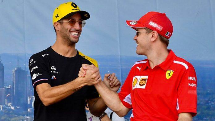 F1 Daniel Ricciardo Ferrari